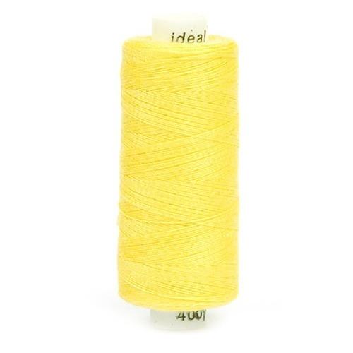 Нитки бытовые Ideal 40/2 100% п/э 131 желтый фото 1