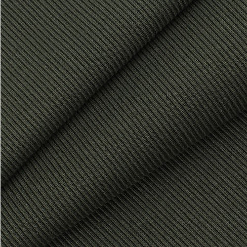 Ткань на отрез кашкорсе 3-х нитка с лайкрой 2361-1 цвет хаки фото 1