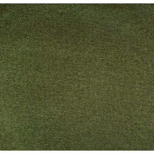 Ткань на отрез кашкорсе с лайкрой Melange 2307-1 цвет хаки фото 1
