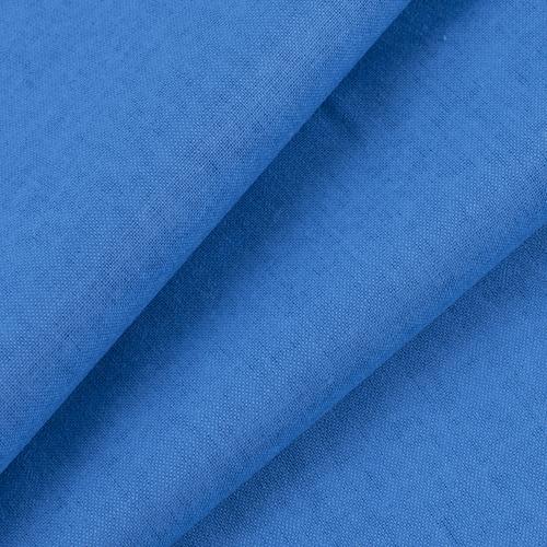 Ткань на отрез бязь ГОСТ Шуя 150 см 12460 цвет ярко-голубой 2 фото 1