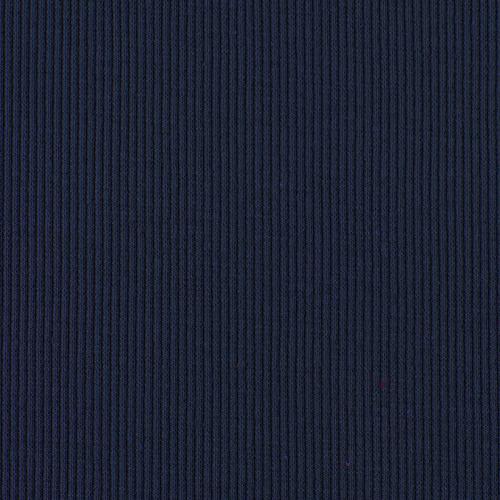 Ткань на отрез кашкорсе с лайкрой 2408-1 цвет темно-синий фото 3
