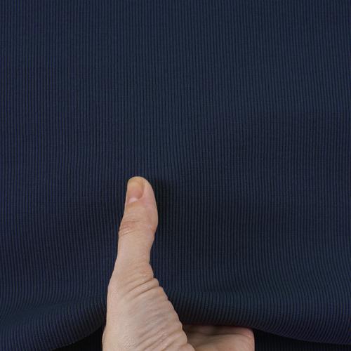 Ткань на отрез кашкорсе с лайкрой 2408-1 цвет темно-синий фото 4