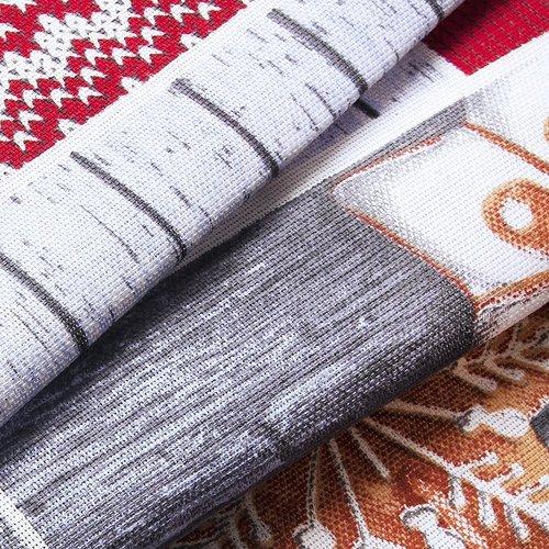 Ткань на отрез рогожка 150 см 10731/1 Чудеса фото 3