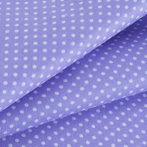 Ткань на отрез бязь плательная 150 см 1590/27 цвет сирень фото 4