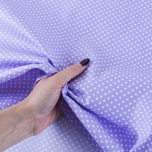 Ткань на отрез бязь плательная 150 см 1590/27 цвет сирень фото 3