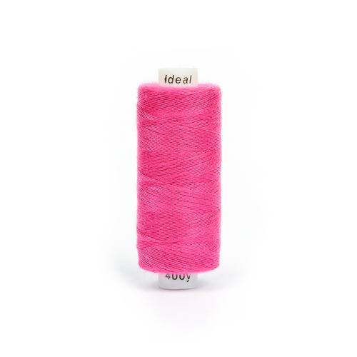 Нитки бытовые IDEAL 40/2 366м 100% п/э, цв.177 розовый фото 1