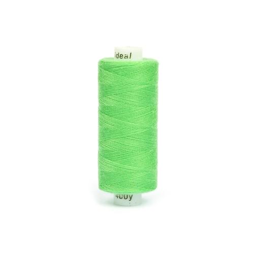 Нитки бытовые IDEAL 40/2 366м 100% п/э, цв.423 св.зеленый фото 1