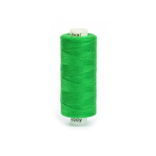 Нитки бытовые IDEAL 40/2 366м 100% п/э, цв.431 зеленый фото 1