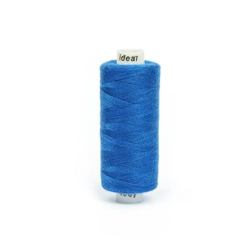 Нитки бытовые IDEAL 40/2 366м 100% п/э, цв.258 синий фото 1
