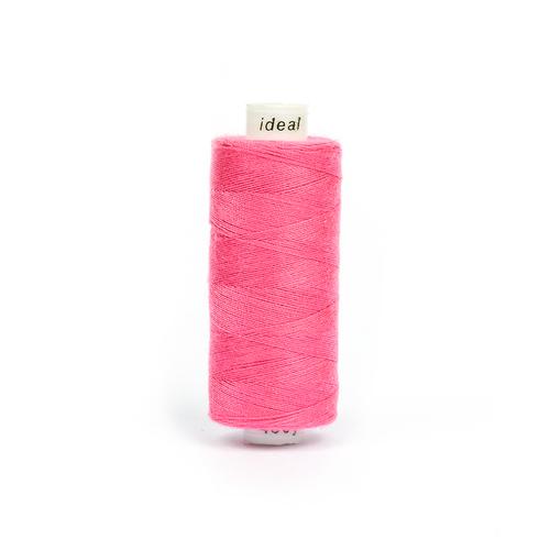 Нитки бытовые IDEAL 40/2 366м 100% п/э, цв.159 розовый фото 1