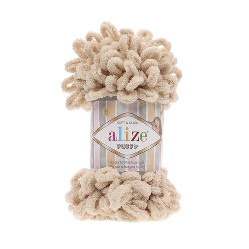 Пряжа ALIZE PUFFY 310-медовый (100% микрополиэстер) фото 1