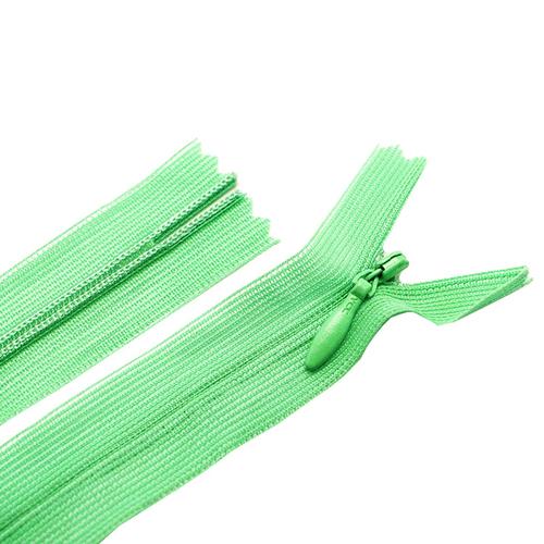Молния пласт потайная №3 50 см цвет молодая зелень фото 1