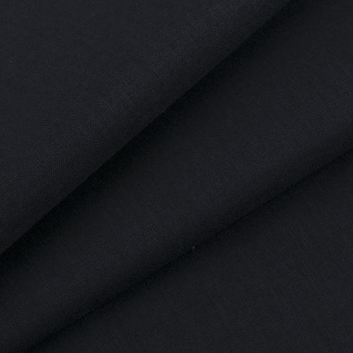 Мерный лоскут бязь ГОСТ Шуя 150 см 10100 цвет черный фото 1