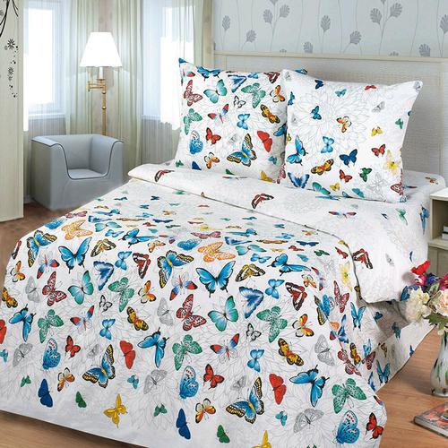 Постельное белье из бязи 10942/1 Бабочки Стандарт Семейный фото 1