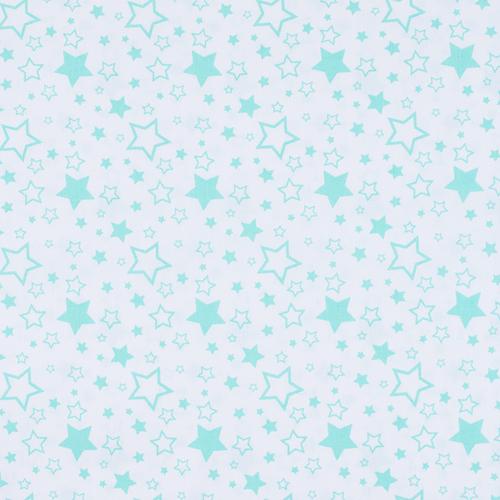 Ткань на отрез поплин 150 см 396А/16 цвет мята фото 1
