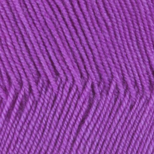Пряжа для вязания ПЕХ Австралийский меринос 100гр/400м цвет 179 фиалка фото 2