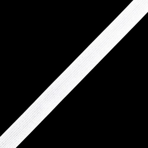 Резинка 10 мм 100 м ТВ-010 цвет белый фото 1