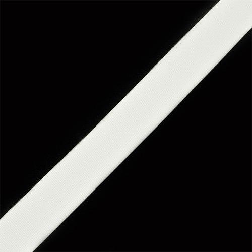 Резинка 20 мм 25 м Ф-20 тканая цвет белый фото 1
