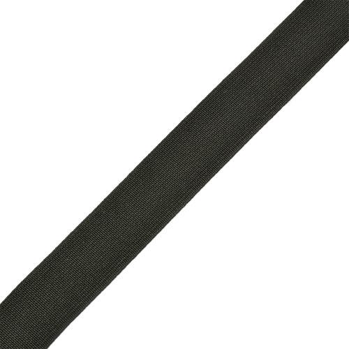 Резинка 25 мм 25 м Ф-20 тканая цвет черный фото 1