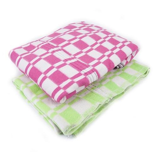 Одеяло байковое лоскутное ОБ-200/3 1.5 сп фото 1