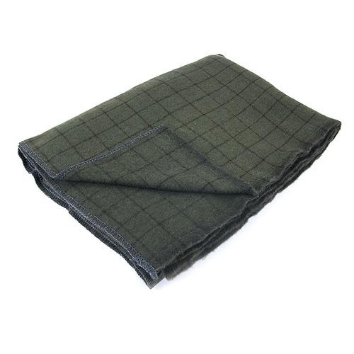Одеяло полушерсть С-105ПЛ-ИЛШ клетка 1.5сп 420гр/м2 фото 1