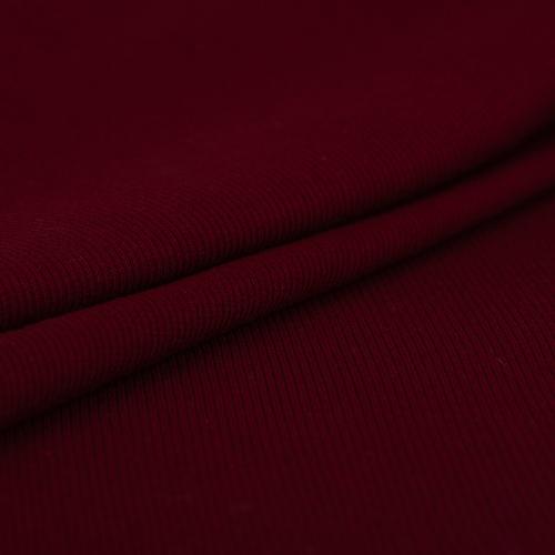 Ткань на отрез кашкорсе с лайкрой 1321-1 цвет бордовый фото 2