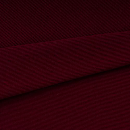 Ткань на отрез кашкорсе с лайкрой 1321-1 цвет бордовый фото 1