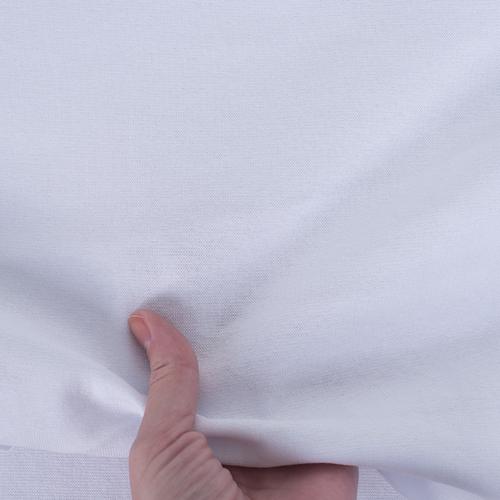 Маломеры рибана с лайкрой цвет белый 0.7 м фото 3