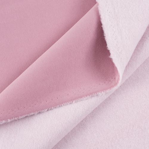Маломеры футер 3-х нитка компакт пенье начес цвет светло-розовый 0.6 м фото 1