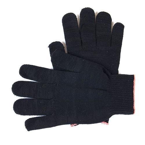 Перчатки рабочие без ПВХ 10-й класс черные 5-ти нитка фото 1