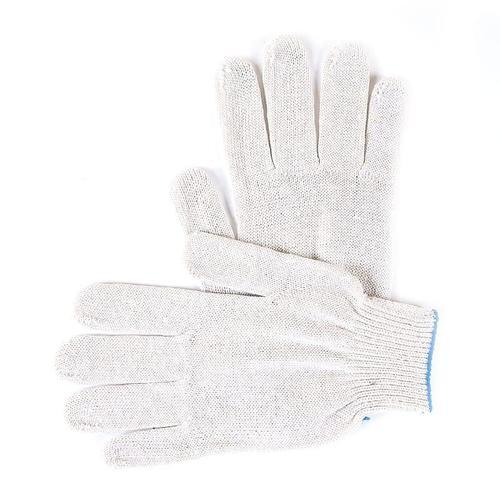 Перчатки рабочие без ПВХ 10-й класс белые 5-ти нитка фото 1