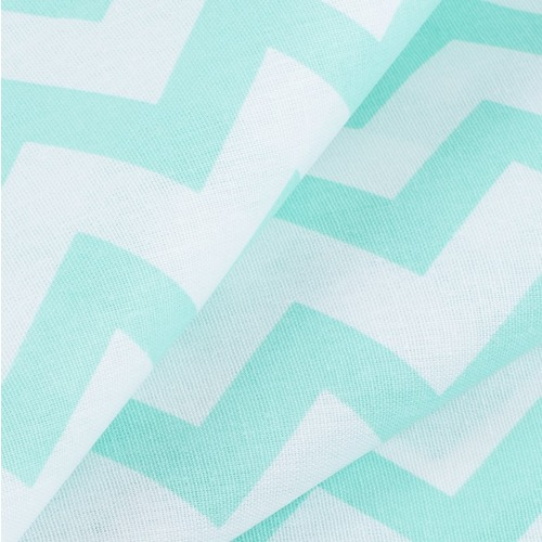 Ткань на отрез бязь плательная 150 см 1692 цвет мята фото 2