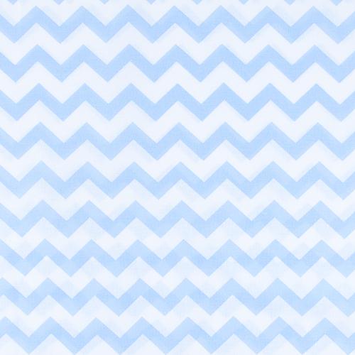 Ткань на отрез бязь плательная 150 см 1692 цвет голубой фото 1