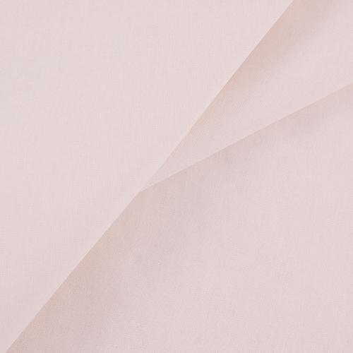 Бязь гладкокрашеная 120гр/м2 220 см на отрез цвет пудра фото 1
