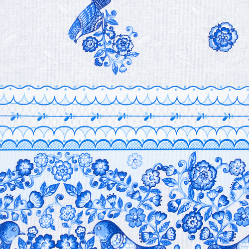 Набор полотенец рогожка 3 шт 35/70 см 18923/1 фото 2