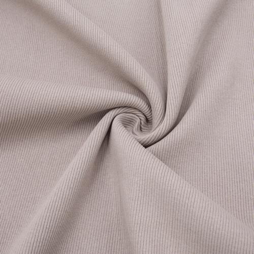 Ткань на отрез кашкорсе 3-х нитка с лайкрой цвет бежевый фото 1