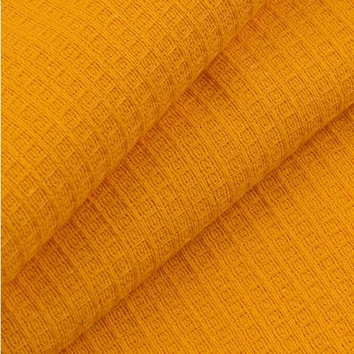 Полотенце вафельное банное 150/75 см цвет апельсин фото 1