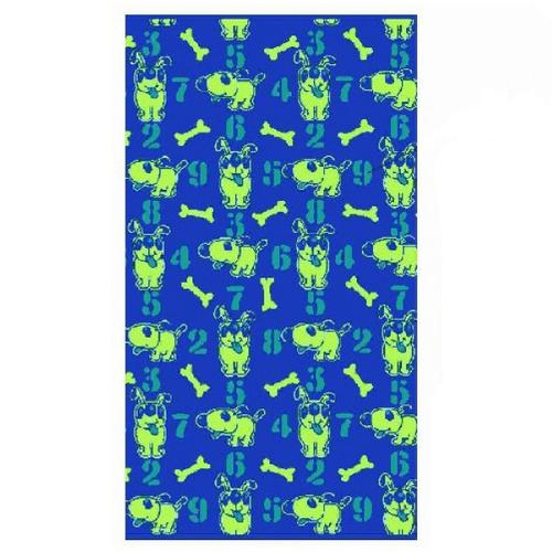 Полотенце махровое ПЦ-2602-2293 50/90 см цвет синий фото 1