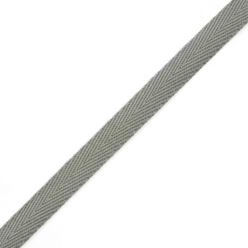 Лента киперная 10 мм хлопок 1.8 гр/см цвет 012 серый фото 1
