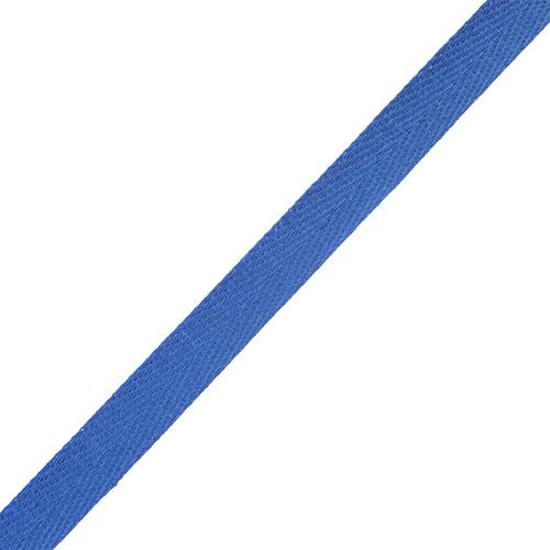 Лента киперная 10 мм хлопок 1.8 гр/см цвет темно-васильковый фото 1