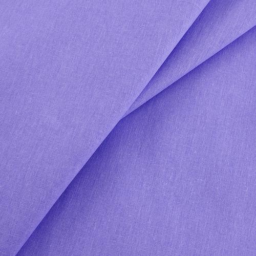 Бязь гладкокрашеная 120гр/м2 220 см на отрез цвет василек фото 1