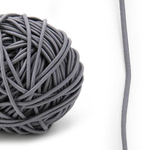 Резинка шляпная 0,25см серая 1 метр фото 1