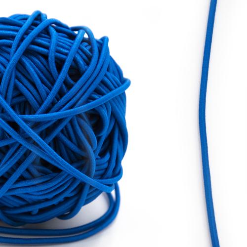 Резинка шляпная 0,25см синяя 1 метр фото 1