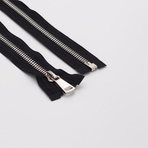 Молния металл №5ТТ никель разьем 60см D580 черный фото 1
