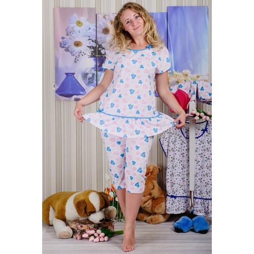 Пижама Д 21 розовые сердечки р 52 фото 1