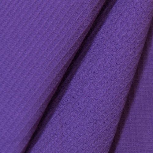 Полотенце вафельное банное 150/75 см цвет фиолетовый фото 1