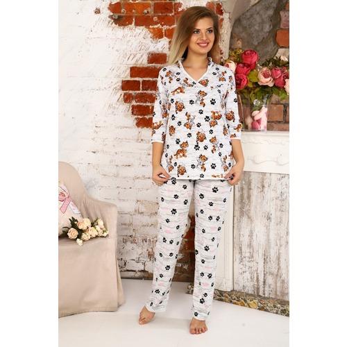 Пижама Тигры Э62 р 60 фото 1
