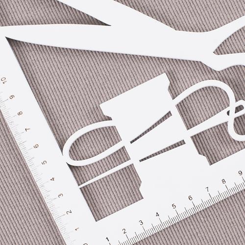 Ткань на отрез кашкорсе с лайкрой К054 цвет мокко фото 2