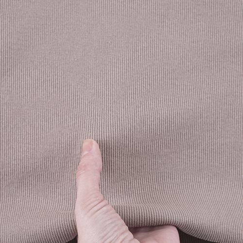 Ткань на отрез кашкорсе с лайкрой К054 цвет мокко фото 4