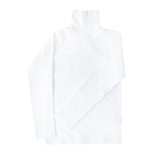 Водолазка детская однотонная цвет белый рост 110 фото 1